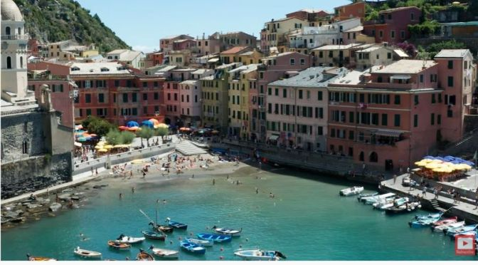 Walking Tours: 'Vernazza, Cinque Terre, Italy' (Video)