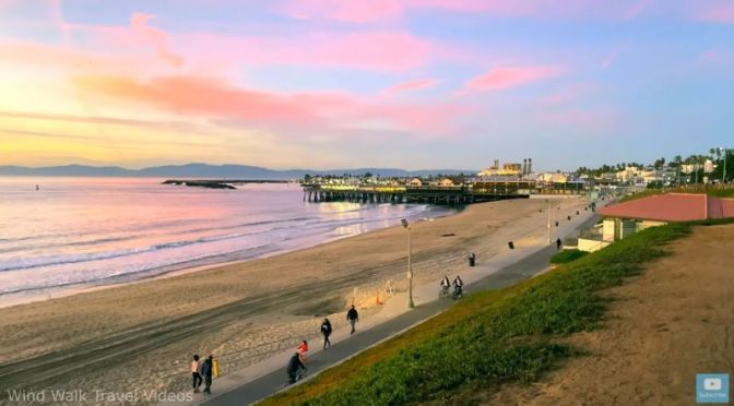 Walking Tours: Sunset In Redondo Beach, CA (Video)