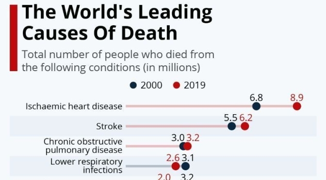 Infographics: 'Leading Causes Of Death (2000-19)