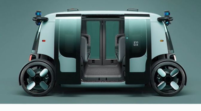 Future Of Mobility: 'Zoox' – A Fully Autonomous Electric Vehicle For Urban Transport (Video)