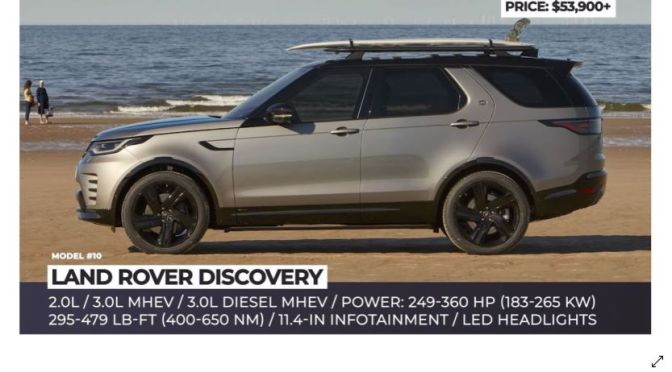Car Review: Top 10 New '2021 Luxury SUV's' (Video)
