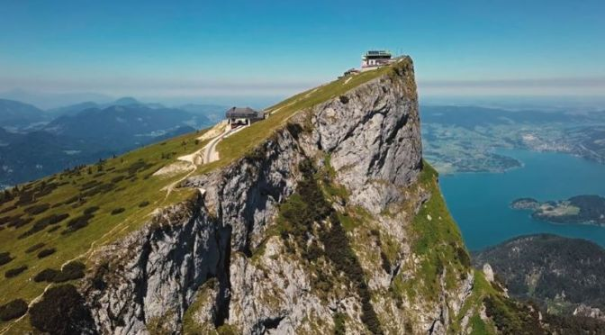 Aerial Travel: The Cities, Landscapes & Landmarks Of 'Austria' (4K Video)