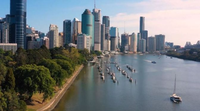 Aerial Travel: 'Brisbane – Australia' (4K Video)