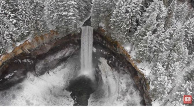 Aerial Travel: 'Canada' – Winter Landscapes (Video)