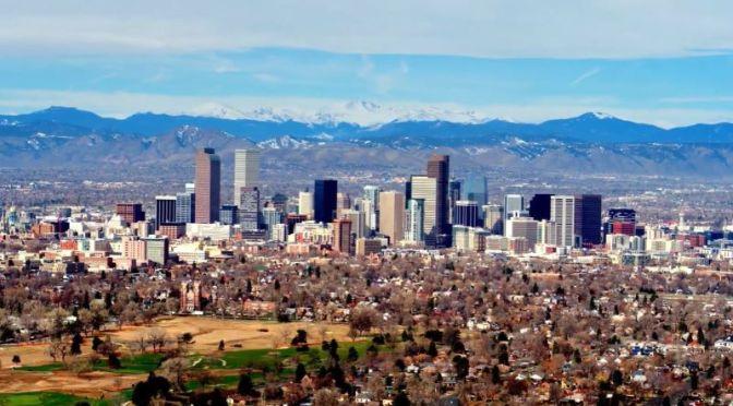 Aerial Views: 'Denver – Colorado' (4K Video)