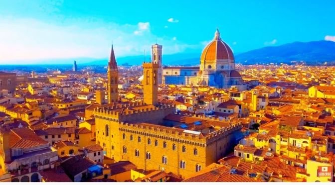 Aerial Travel: 'Florence – Italy' (8K UHD Video)