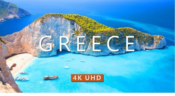 Aerial Travel: 'Greece' – Coasts & Nature (4K Video)