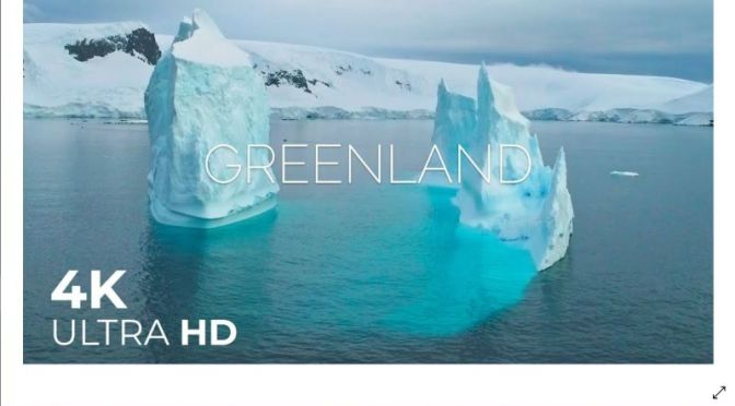 Views: 'Greenland's Arctic Landscape' (4K UHD Video)