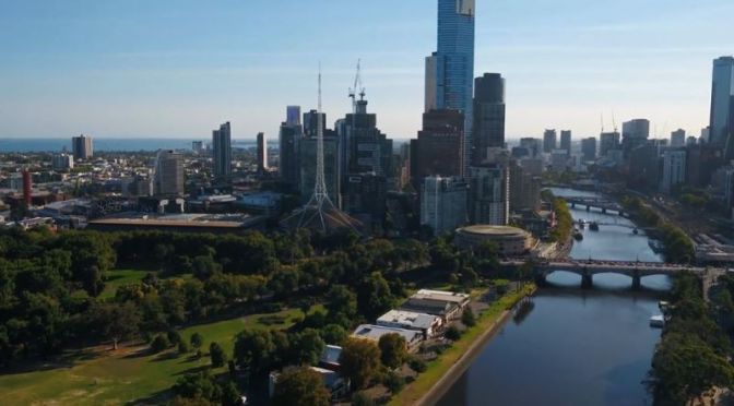 Aerial Travel: 'Melbourne – Australia' (4k Video)