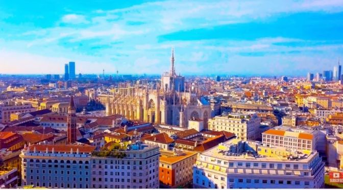 Aerial Travel: 'Milan – Italy' (8K UHD Video)