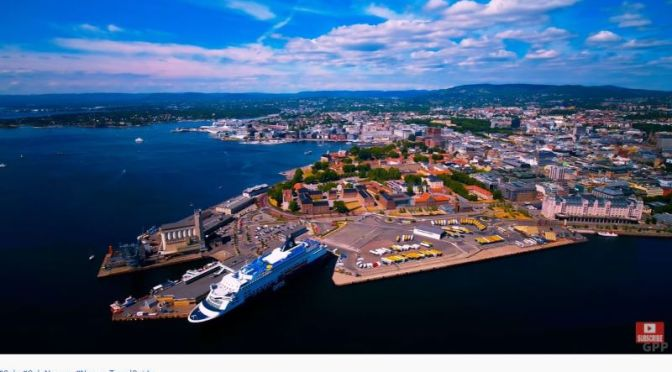 Aerial Views: 'Oslo' In Southern Norway (Video)