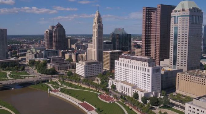 Aerial Views: 'Columbus – Ohio' (4K HD Video)