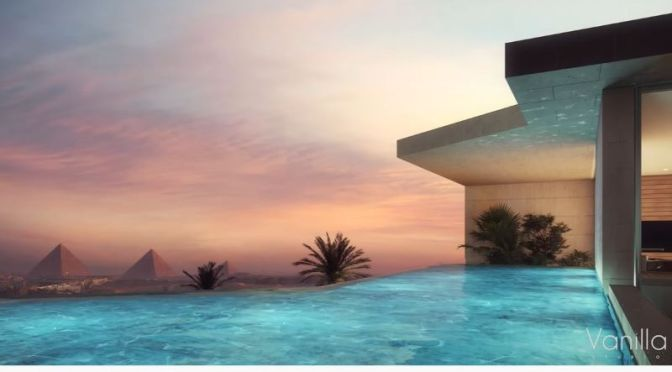 Visualization: Modern Villas Overlooking The Pyramids In Egypt (Video)