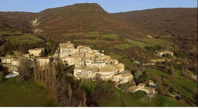 Travel: 'Volcanic Stone Village Of Aubignas' In Southern France (Video)