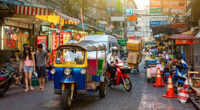 Travel Tour: 'Bangkok – Thailand' (4K Video)