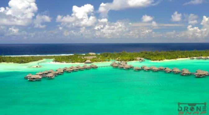 Aerial Views: 'Bora Bora' – French Polynesia (4K)