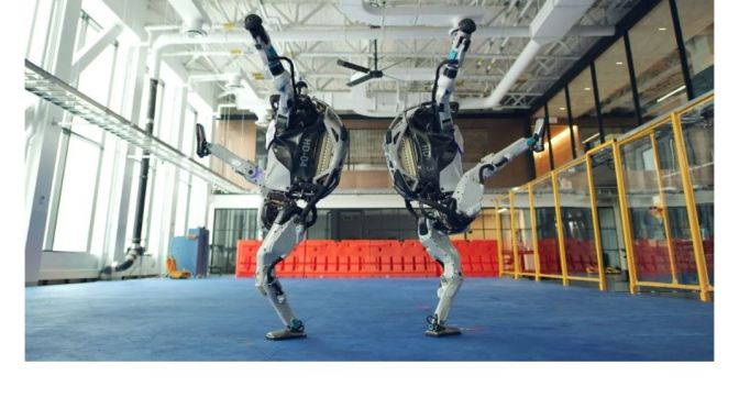 Tech: Boston Dynamics 'Dancing Robots' (Video)