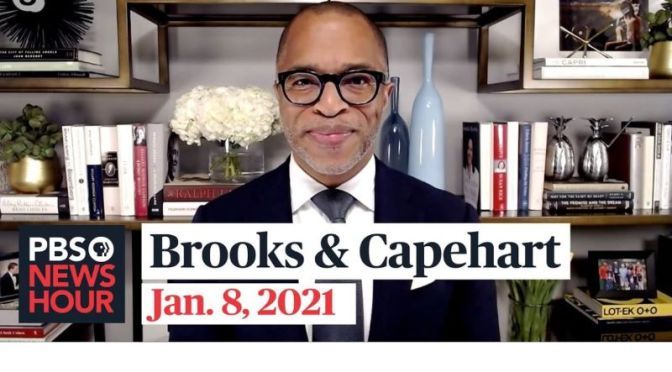 Political News: 'Brooks & Capehart' On The Rampage At The Capitol (PBS Video)