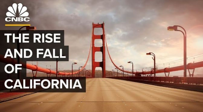 Analysis: 'Why Big Tech Companies Are Leaving California' (CNBC Video)