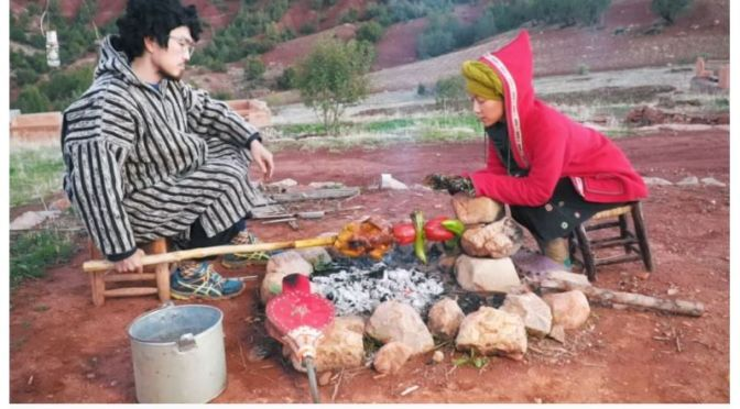 Journeys: Camping And Cooking In 'High Atlas Mountains, Morocco'