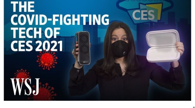 Covid Prevention: 'Smart Technology At CES 2021'