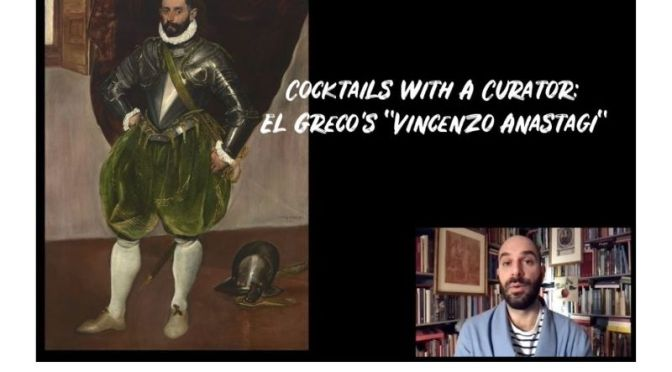 "Cocktails With A Curator: 'El Greco's ""Vincenzo Anastagi""' (Frick Video)"