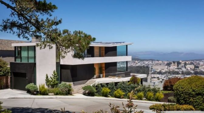 Architectural Tours: San Francisco Contemporary Atop Mount Sutro (Video)