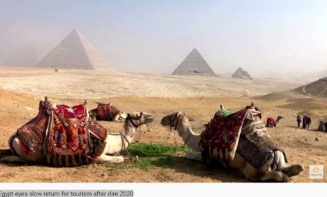 Tourism In 2021 Egypt Sees Slow Return After 70 Plunge In 2020 Video Boomers Daily