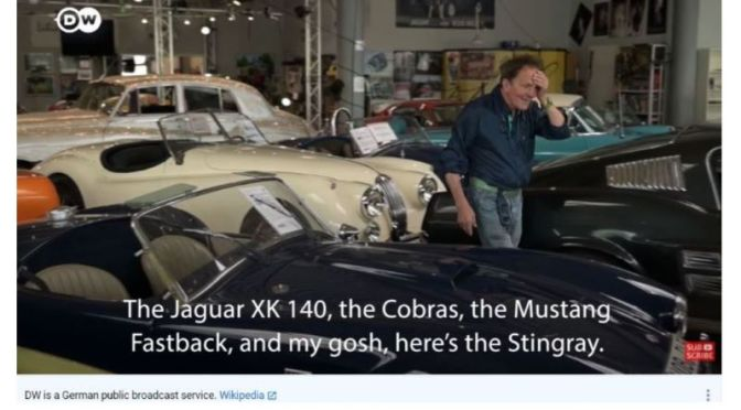 Collections: The Amazing Classic Cars Of Germany's Michael Fröhlich (Video)