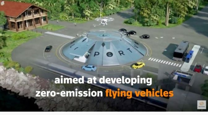Future Transport: 'Flying Cars Airport' Scheduled for UK In 2021 (Video)