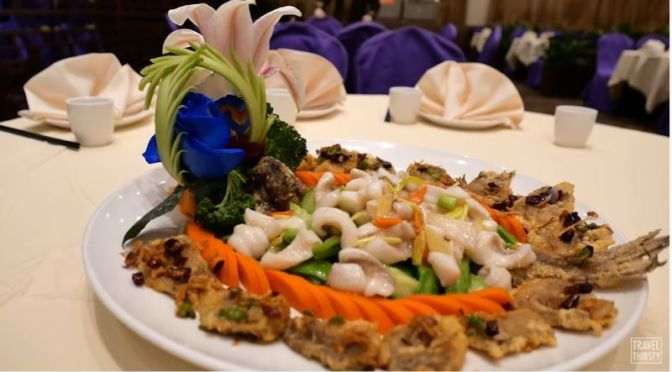 Culinary Arts: 'Fried Flounder' At Park Asia In Brooklyn, NY (Video)