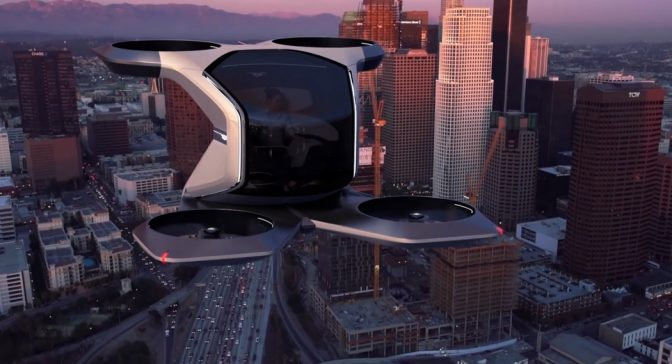 Future Transportation: GM Reveals 'Electric Flying Vehicle' (Video)