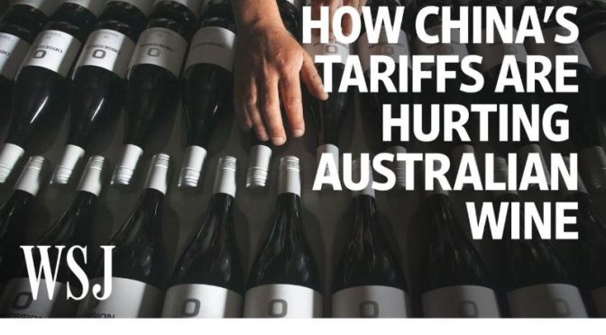 Analysis: The Effects Of Chinese Tariff's Of Up To 212% On Australian Wine