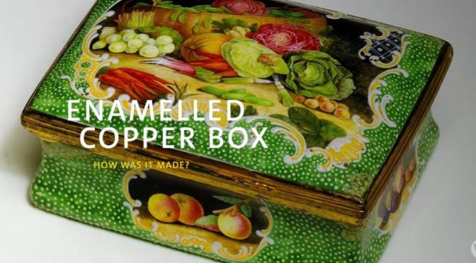 Art Views: How 'Enameled Copper Boxes' Are Made