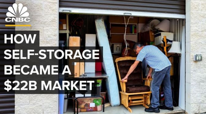 Self-Storage: 'Growth Of A $22 Billion Industry'