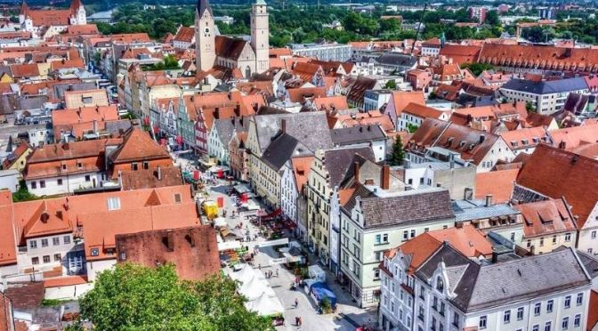 Top Walks: 'Ingolstadt – Germany' (4K Video)