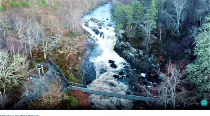 Road Trips In Scotland: 'Inverness To Rogie Falls, Outer Hebrides' (Video)