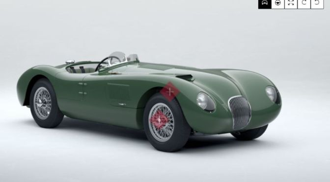 Classic Cars: Buyers Can Configure Their Own Jaguar C-Type Online