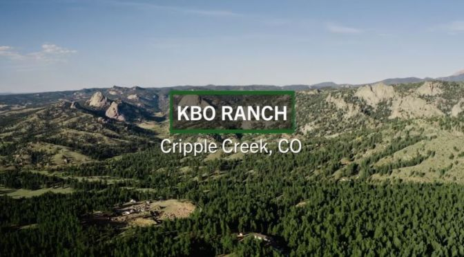 Aerial Views: 'KBO Ranch' – Cripple Creek, Colorado