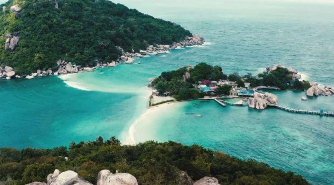 Aerial Travel: 'Ko Samui' – Island In Thailand (Video)