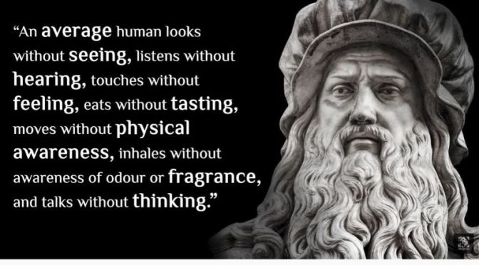 Great Quotes: 'Leonardo da Vinci, 1452-1519' (Video)