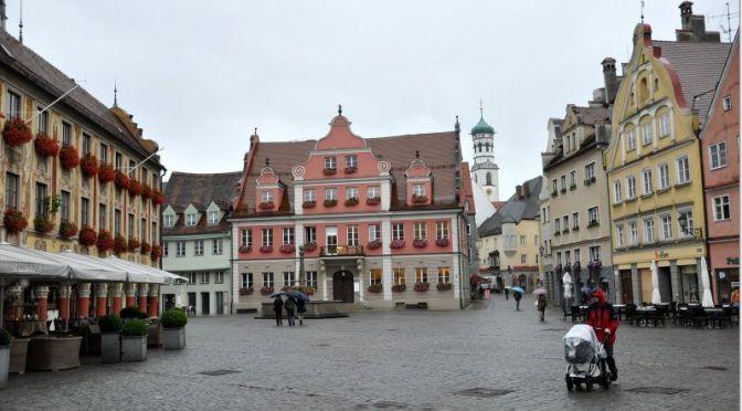Walks: 'Memmingen – Germany' (4K Video)
