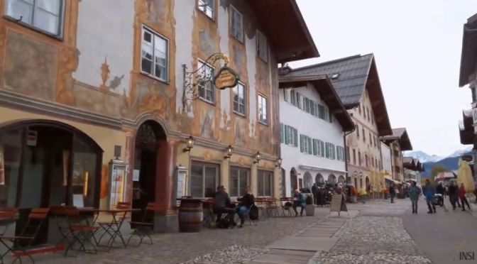 Walks: 'Mittenwald' In Bavaria, Germany (Video)