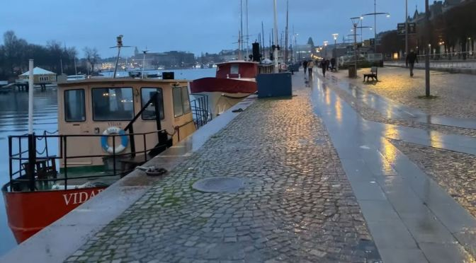 Walks: New Year's Day 2021 In 'Stockholm, Sweden'