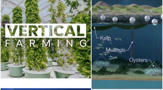 Next-Gen Food: 'Vertical & Underwater Farming'