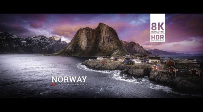 Timelapse Travel: 'Norway' Nature's Colors (8K Video)