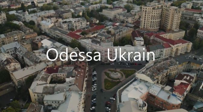 Aerial Travel: 'Odessa – Ukraine' (4K Video)