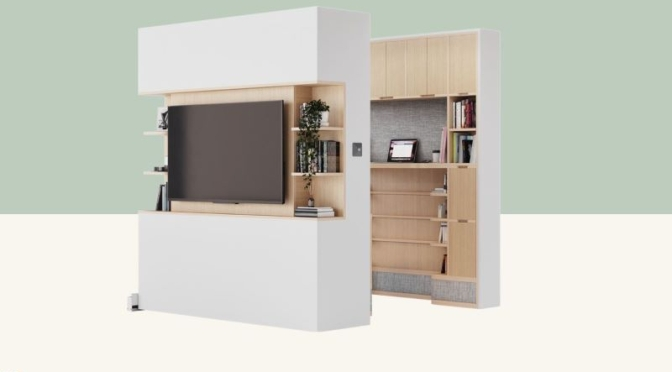 Remote Work: 'Ori Pocket Office' – Vanishes At The Touch Of Button (Video)