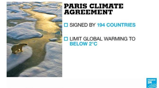 News: U.S. Rejoins The Paris Climate Agreement (Video)
