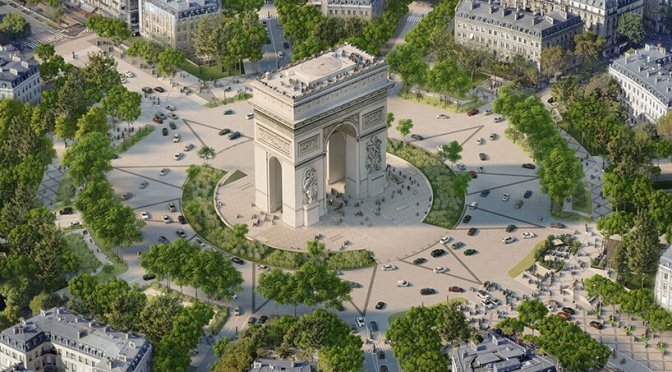 Design: 'Champs-Élysées' In Paris To Be Turned Into An 'Extraordinary Garden' After 2024 Olympics